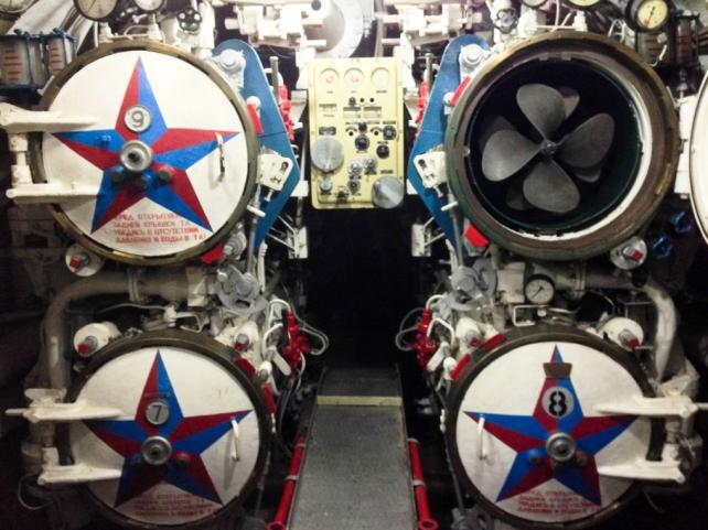 Aft Torpedos