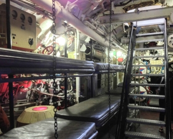 Aft Torpedo Room and Sleeping Racks