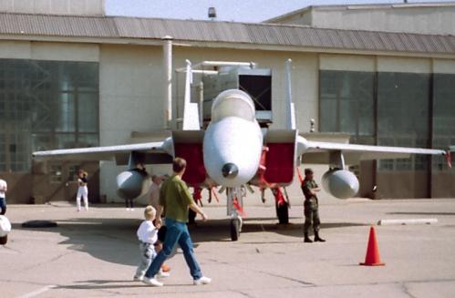 F-15 -- Sheppard AFB, TX Air Show 1991