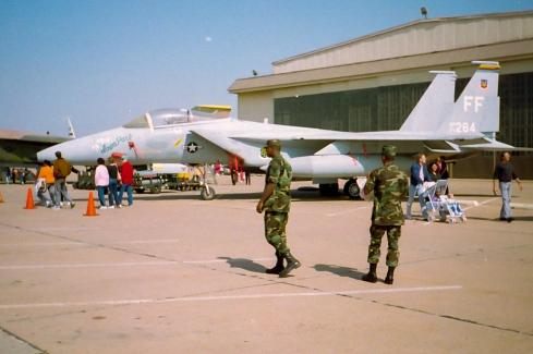 F-15 -- Sheppard AFB, TX Air Show, 1991