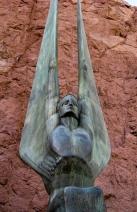 Dam Winged Statue