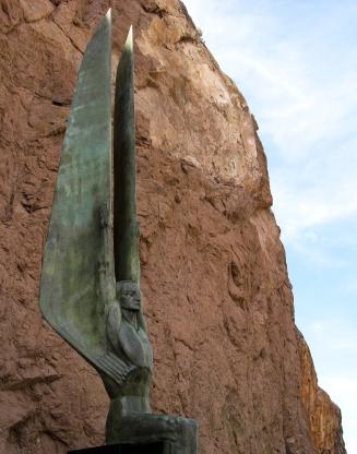 Dam Statue