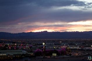 Spring Range Sunset
