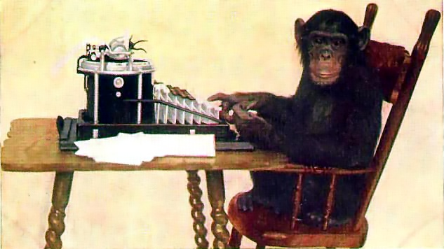 Chimp Typing