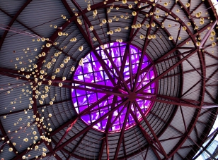 California Science Center Atrium Celling