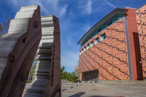 California Science Center Monument2