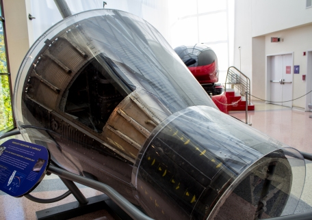 The Mercury Capsule that Carried the First Primate into Space