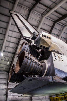 Space Shuttle OMS, Tail, and Engines