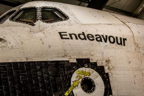 Space Shuttle Endeavour Hatch