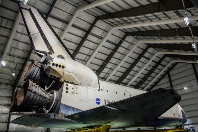 Space Shuttle Endeavour Looking Forward