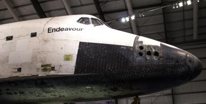 Space Shuttle Endeavour Nose