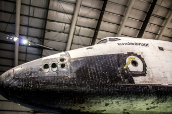 Space Shuttle Endeavour Nose2