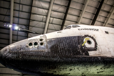 Space Shuttle Endeavour Nose2