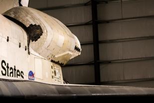 Space Shuttle Endeavour OMS Pod