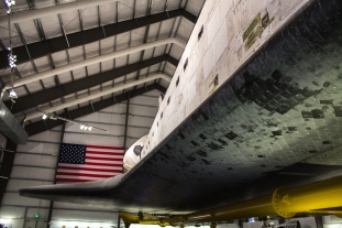 Space Shuttle Fuselage and Leading Edge