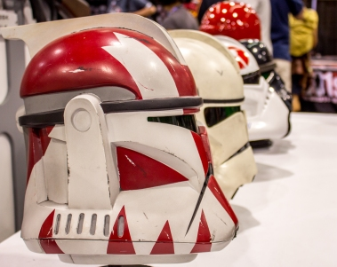 Trooper Helmet Line-Up