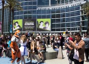 Anaheim Convention Center Courtyard