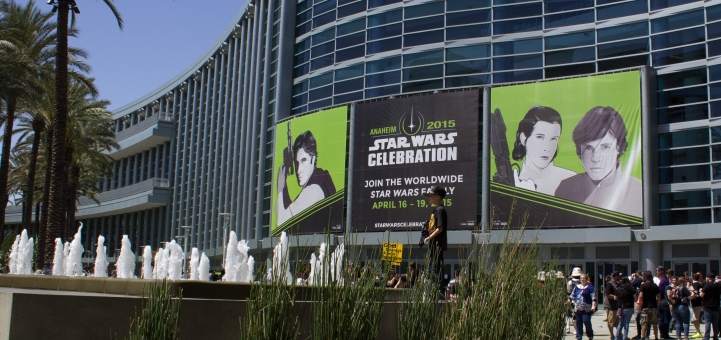 Celebration Banner and Fountain