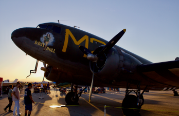 C47 D-Day Doll Sunset