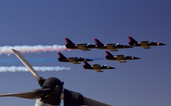 Patriots Flyby